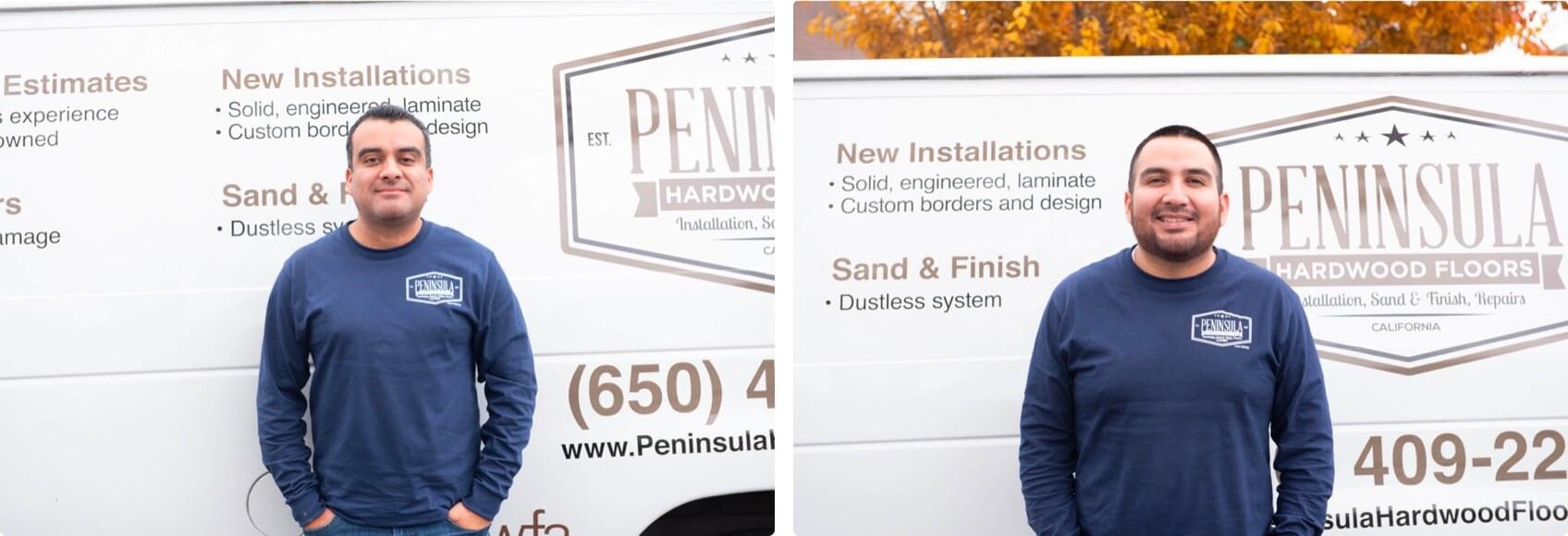 More grid images of Peninsula team members.