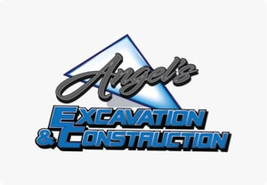 Offical logo of Angel's Excavation and Construction
