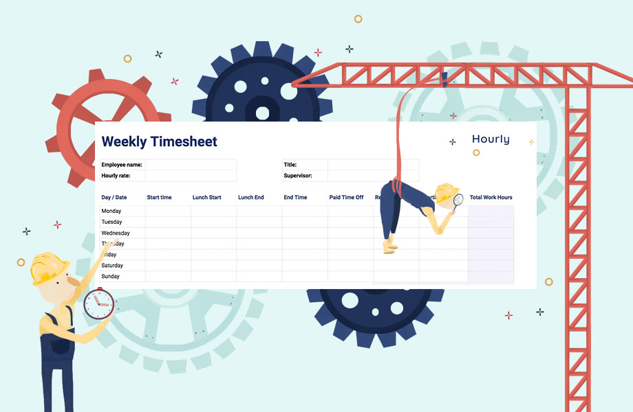 Free Paper Time Sheet Templates and Printable Timecards