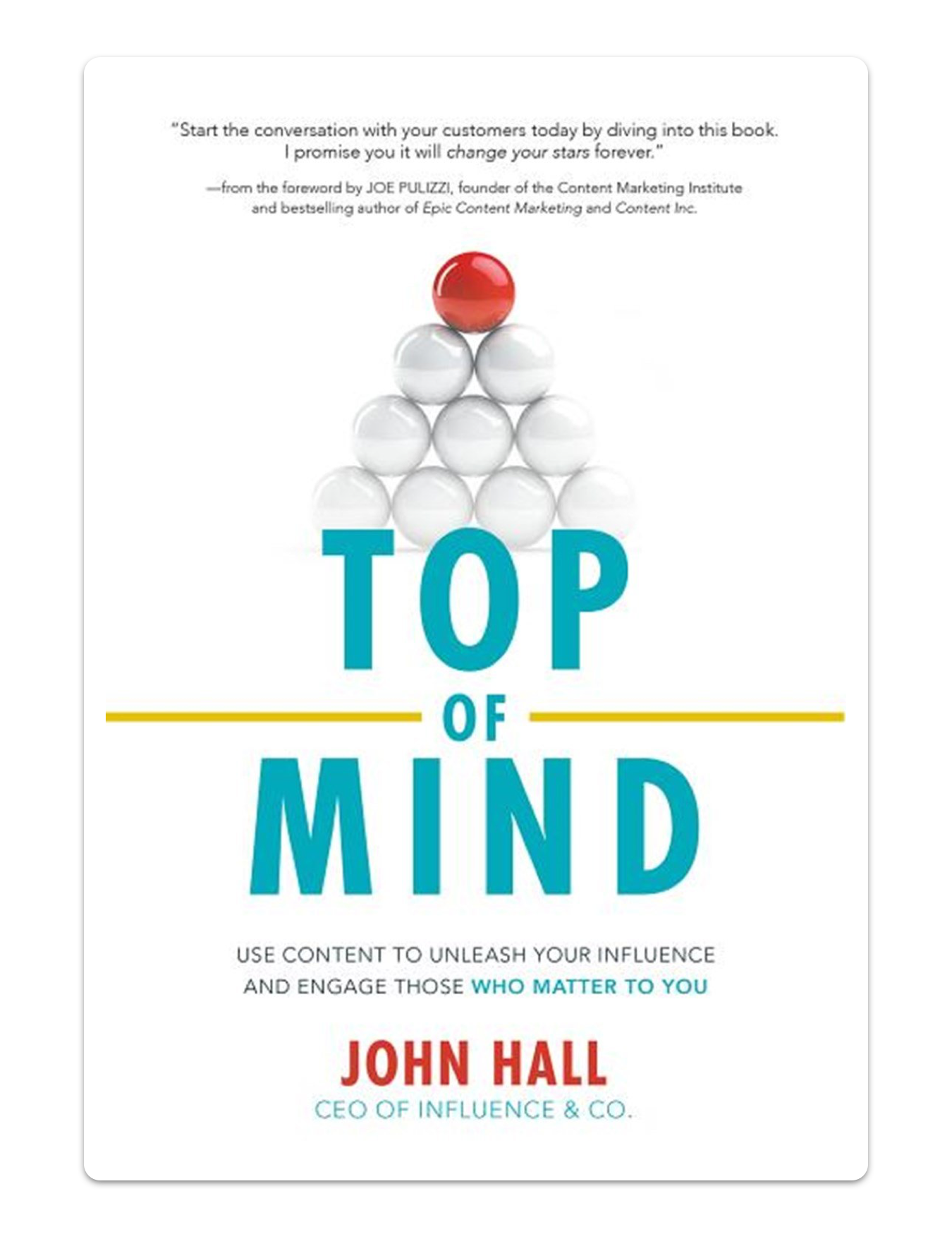 Book cover for Top of Mind