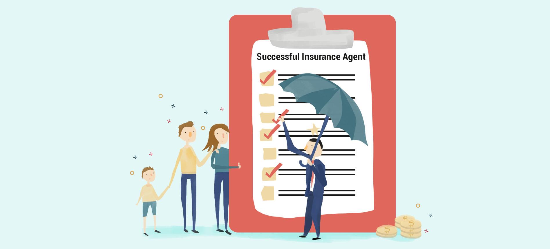 Successful Insurance Agent