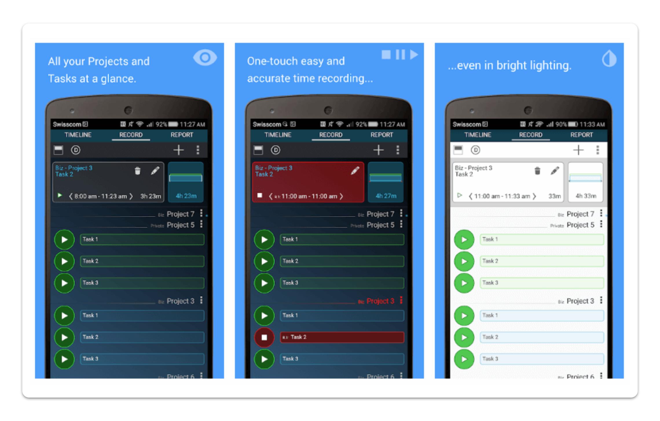 Gleeo mobile app screeshot