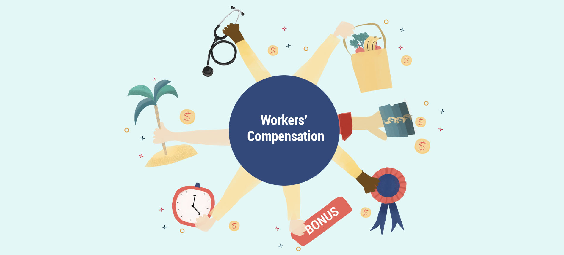 Wages Subject to Workers' Comp Thumbnail Graphic