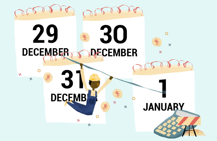 Year-End Tax Planning Tips Thumbnail Graphic