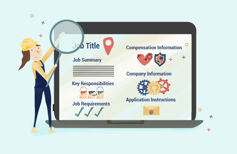 How to Write a Job Description Thumbnail Graphic