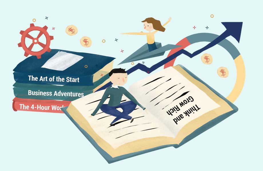 Best Book for Entrepreneurs Thumbnail Graphic