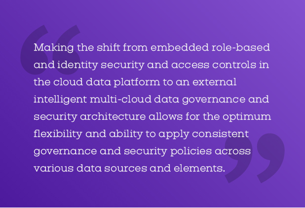 Intelligent multi-cloud data governance and security