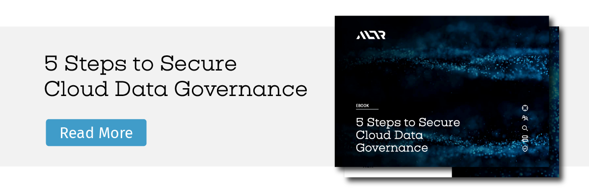 5 steps to secure cloud data governance