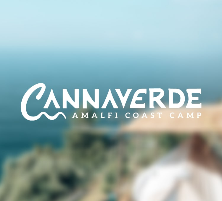 Cannaverde logo on a blurred background.