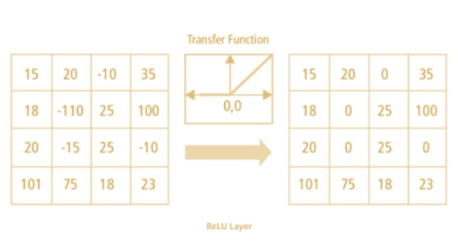 ReLU layer in AI