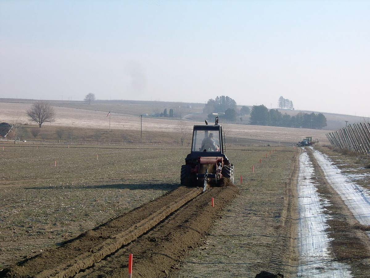 Orchard and Vineyard Irrigation Installation