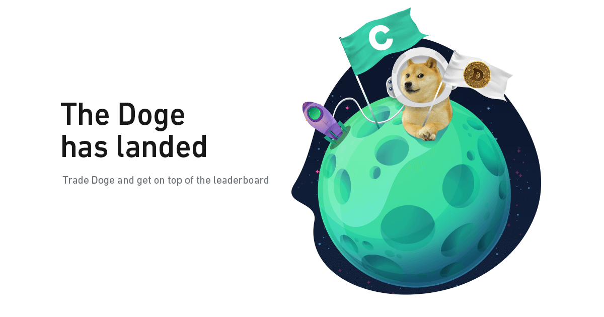 DOGE has landed and brought you prizes