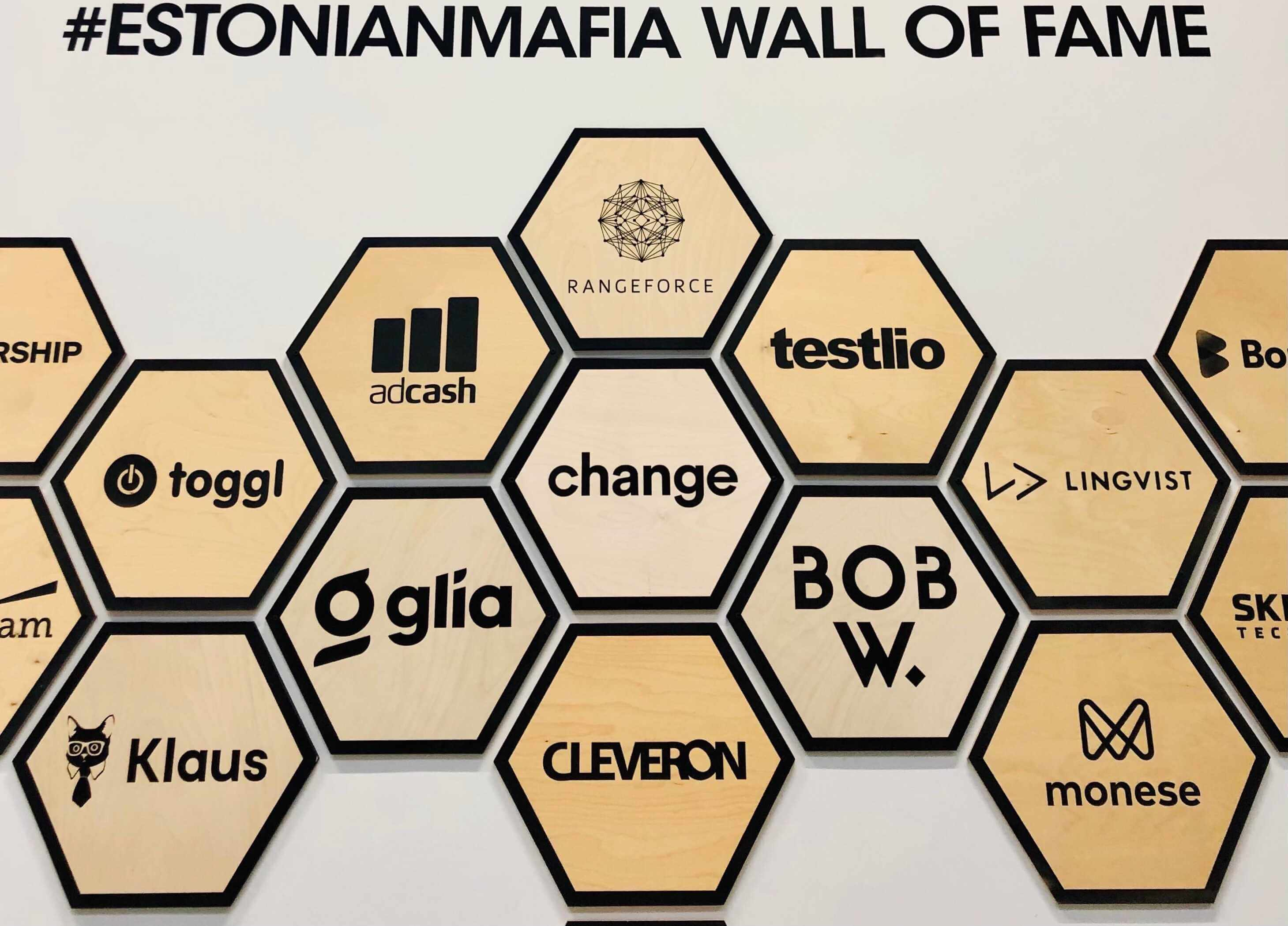 Change is now an official member of Estonia's startup Wall of Fame