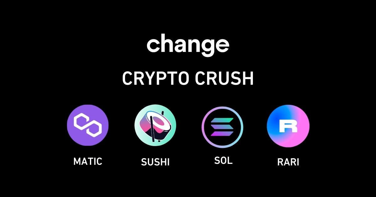 Welcome 4 new cryptos and win prizes