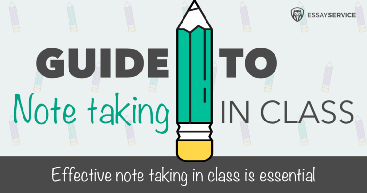 The Ultimate Guide To Note-Taking in Class - Infographic (With Free DIY Printable Cornell Notebook)