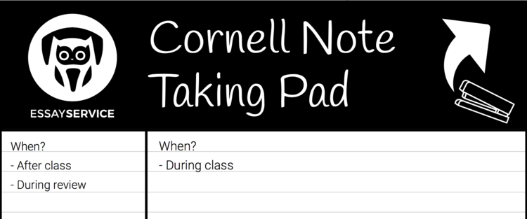 how to make Cornell notebook