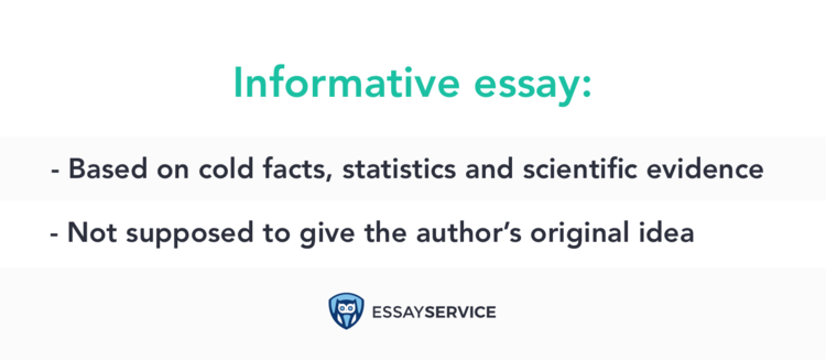 what is informative essay