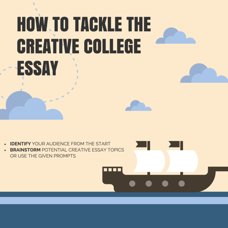 How To Tackle the Creative College Essay