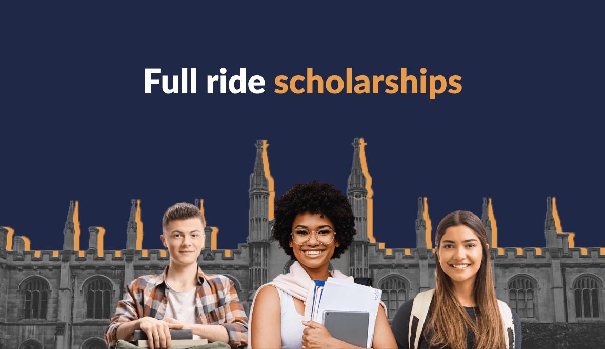 full ride scholarships