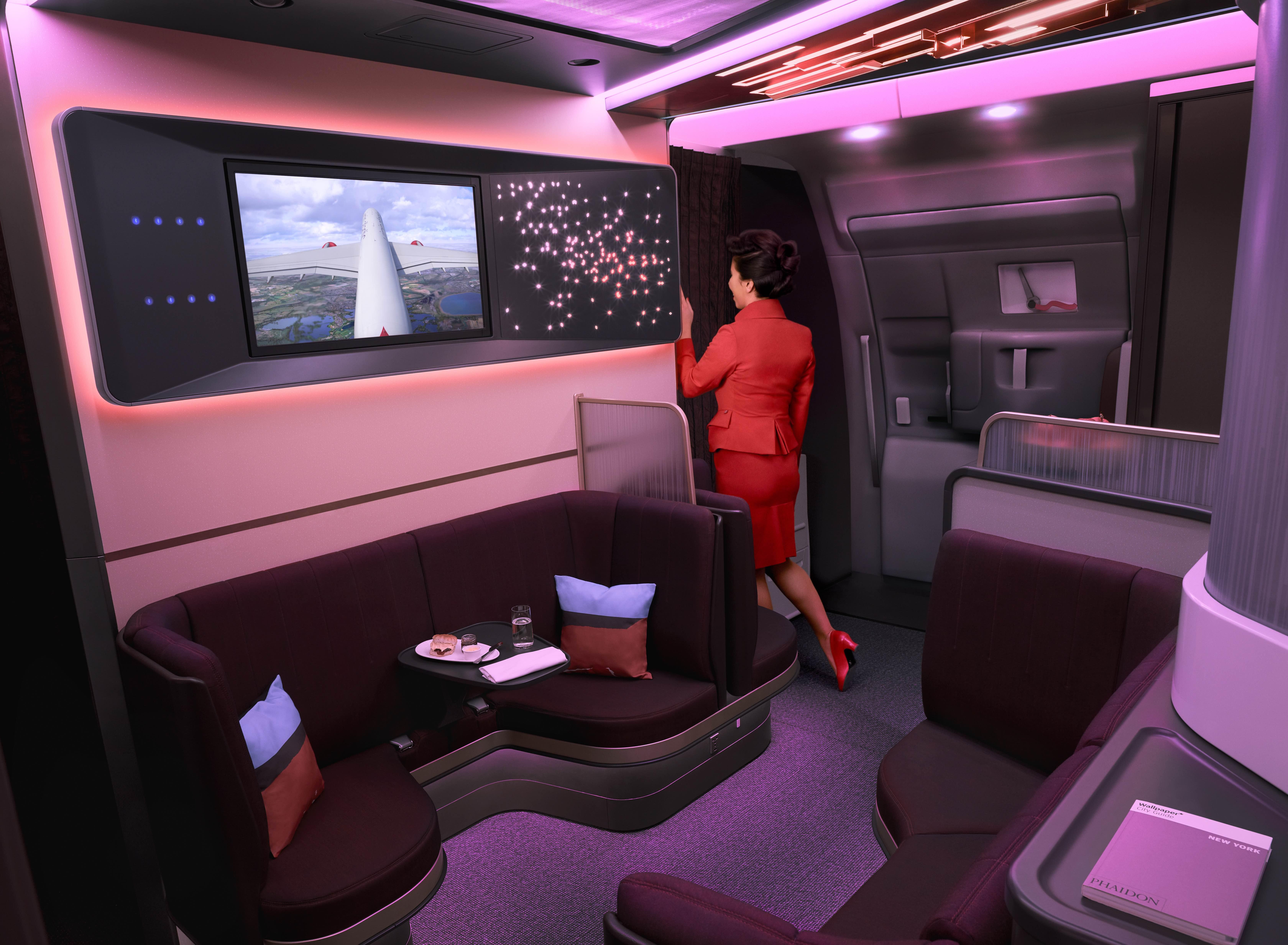 Virgin Atlantic Loft on A350