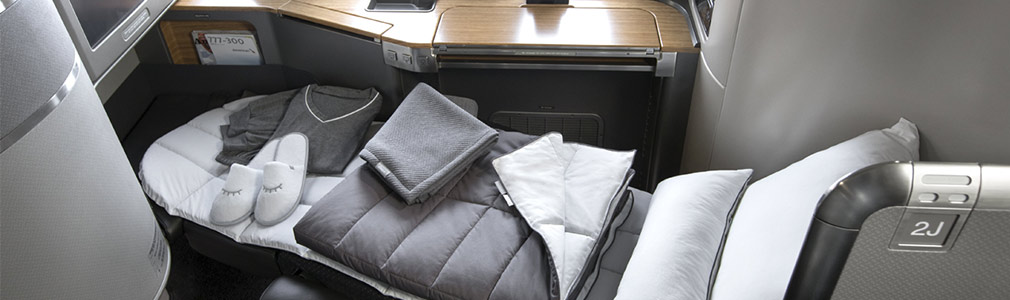 American Airlines flagship First Class seat