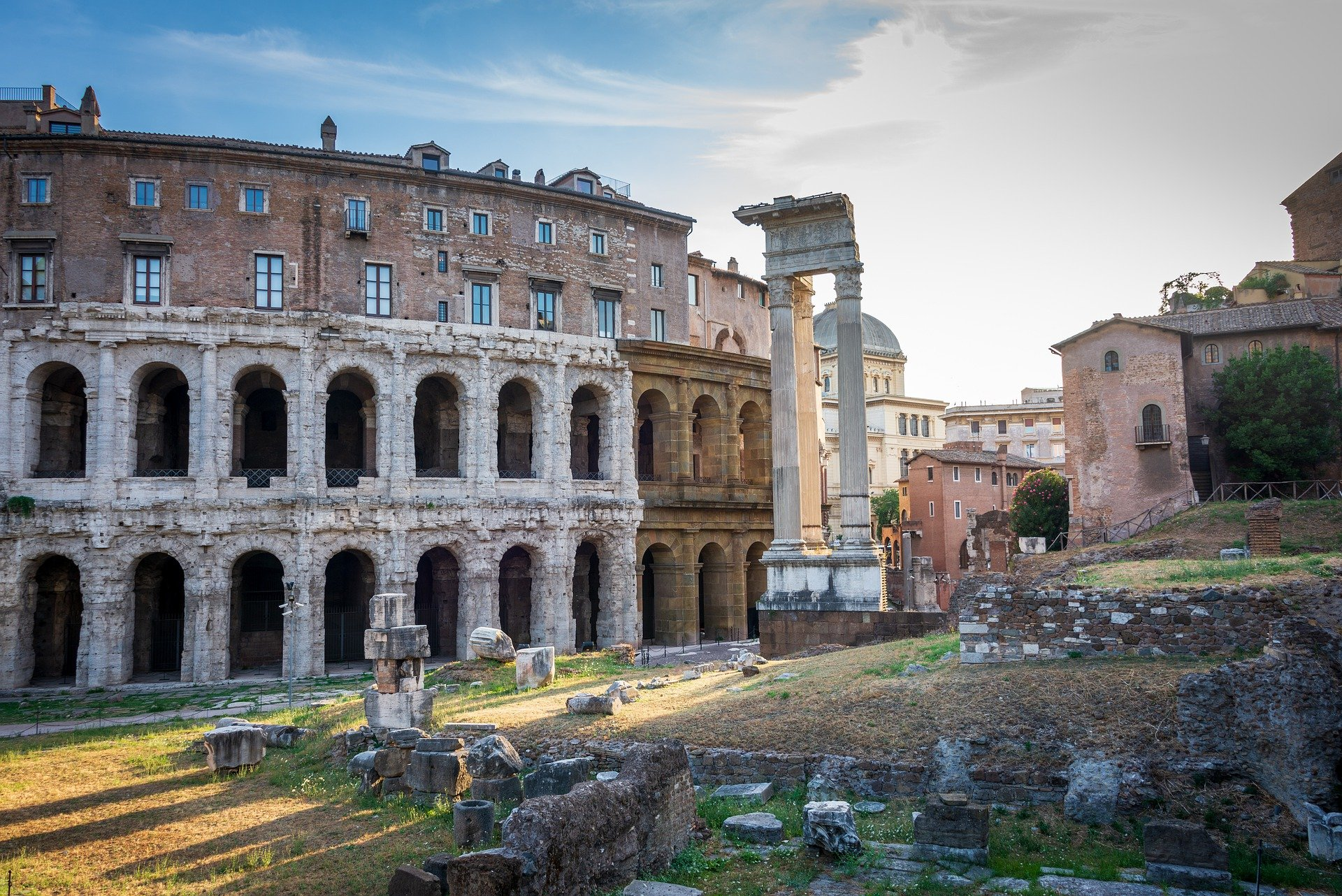 ruins in Rome, Italy