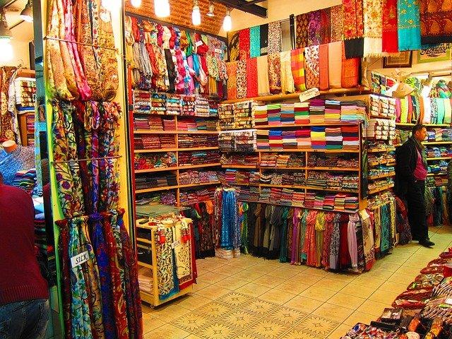 Gran Bazar market in Istanbul, Turkey