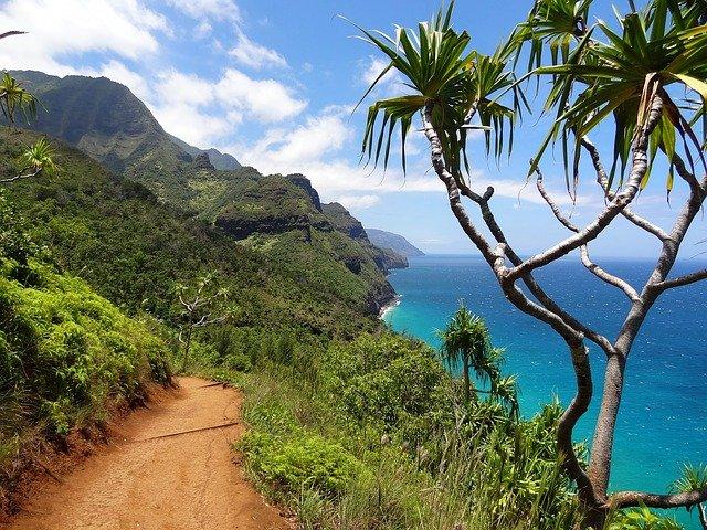 Napali coast in Kauai, Hawaii