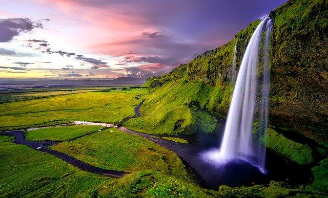 seljalands waterfall in Iceland