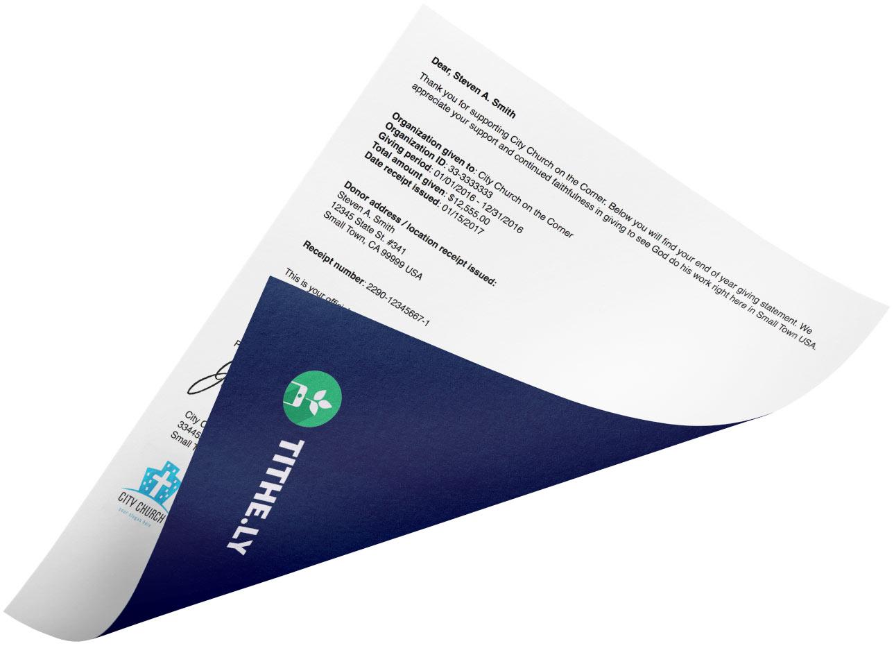 Tax Receipting