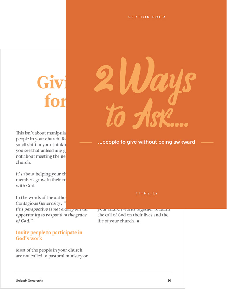 2 quick (and essential) steps for turning non-givers into givers