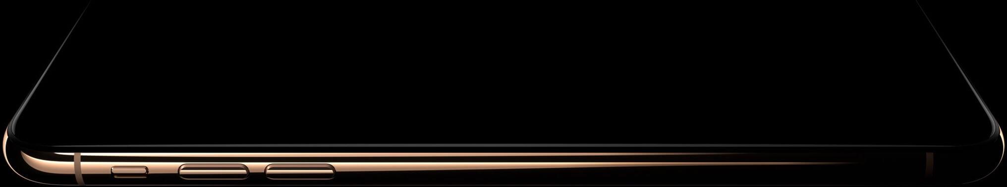 iPhone X Gold Dark