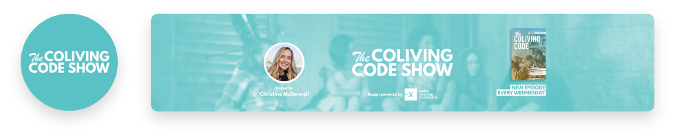 SPX Agency: The Coliving Code Show logo and banner