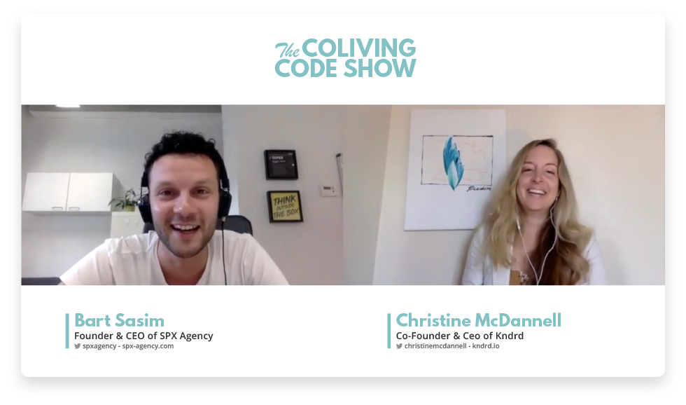 SPX Agency: The Coliving Code Show interview with Bart Sasim and Christine McDannell