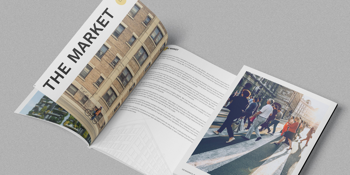 SPX Agency: Coliving Insights magazine no1 internal mockup