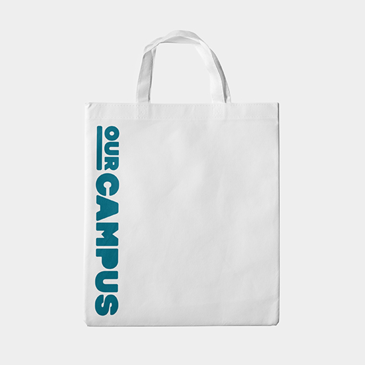 SPX Agency Work: OurCampus merchandising tote bag