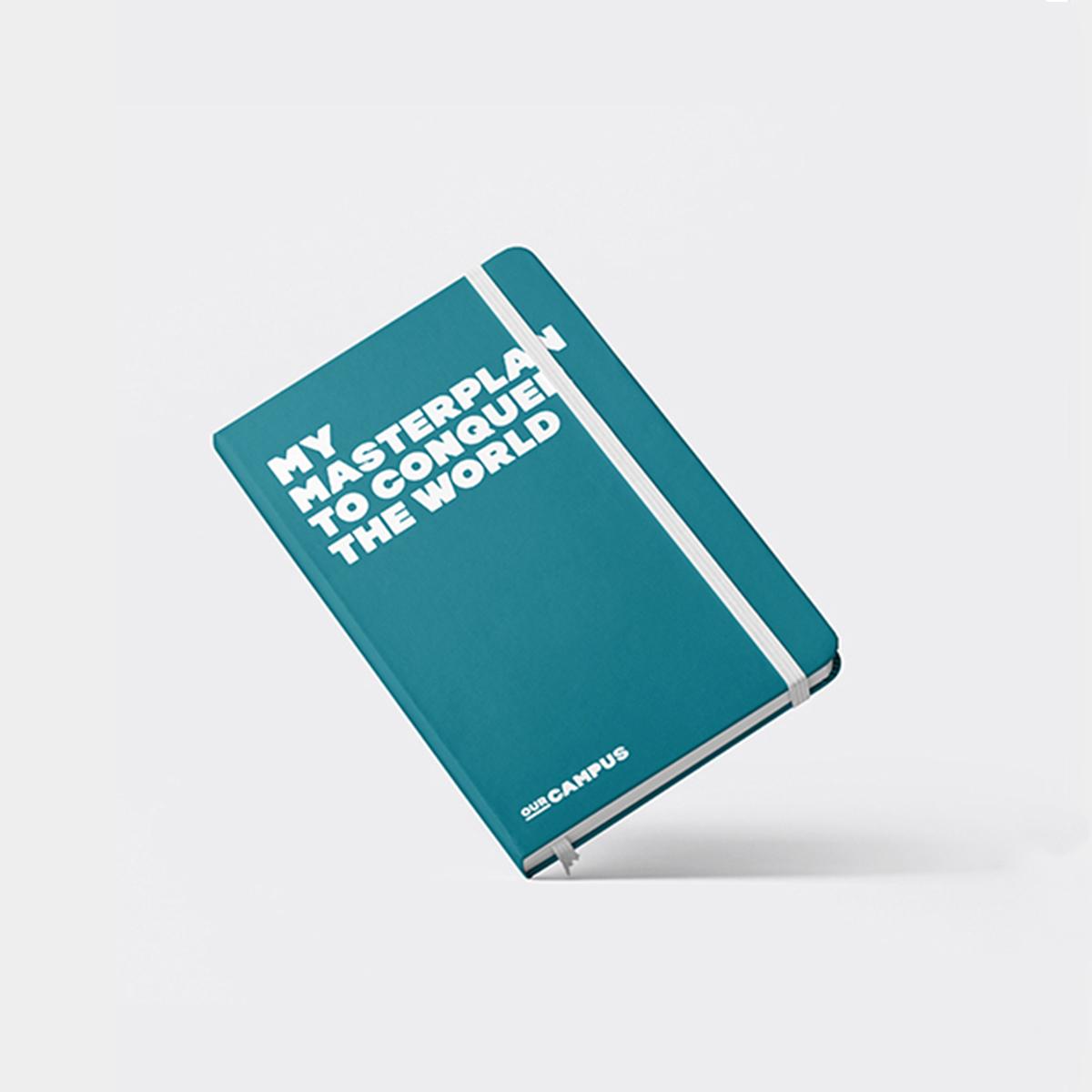 SPX Agency Work: OurCampus Merchandising, book