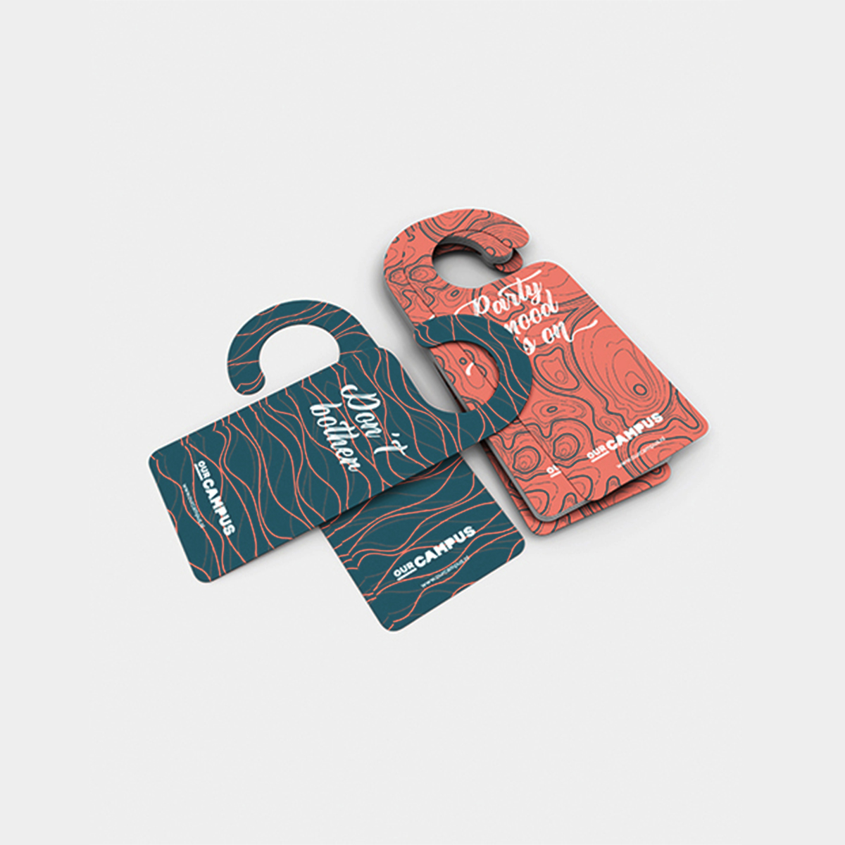 SPX Agency Work: OurCampus Door hanger