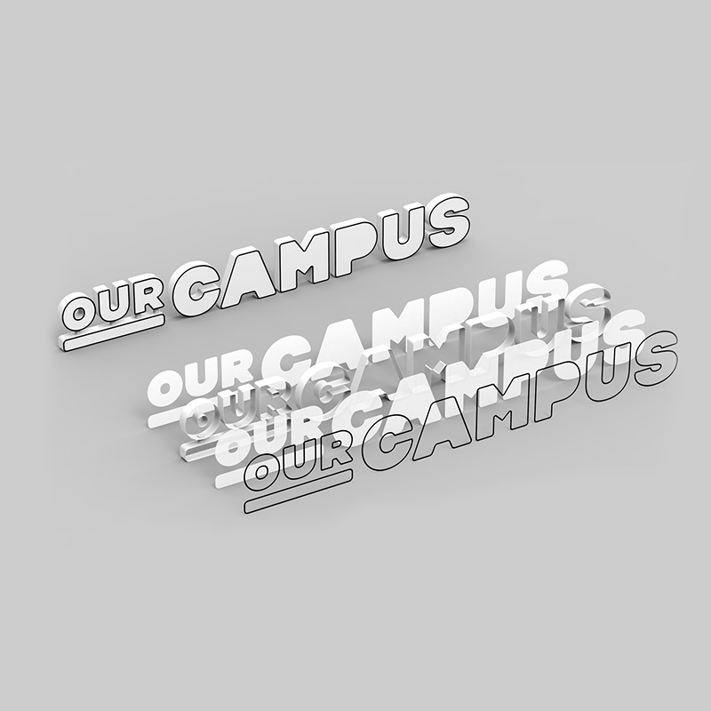 SPX Agency Work: OurCampus Signage project