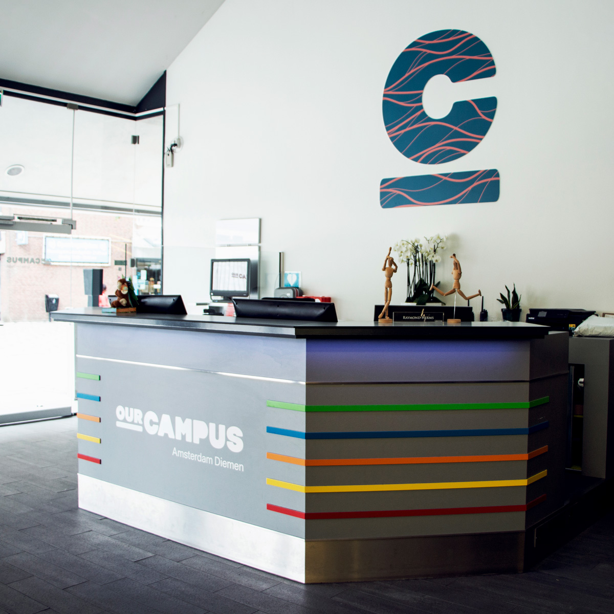 SPX Agency Work: OurCampus reception, hall