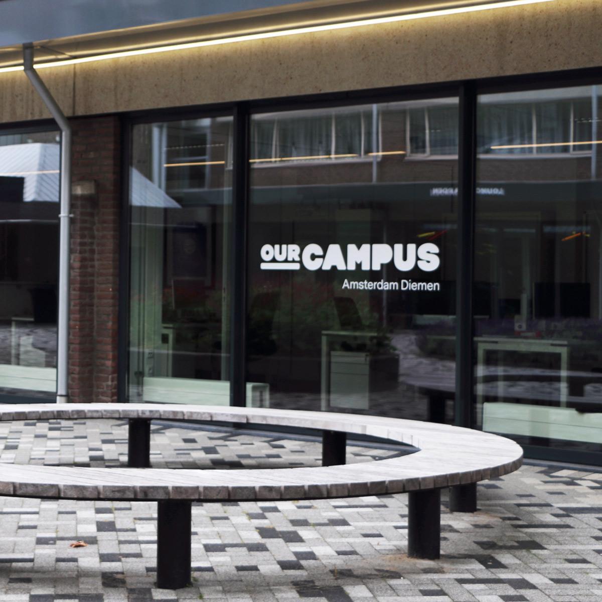 SPX Agency Work: OurCampus Amsterdam Diemen glass