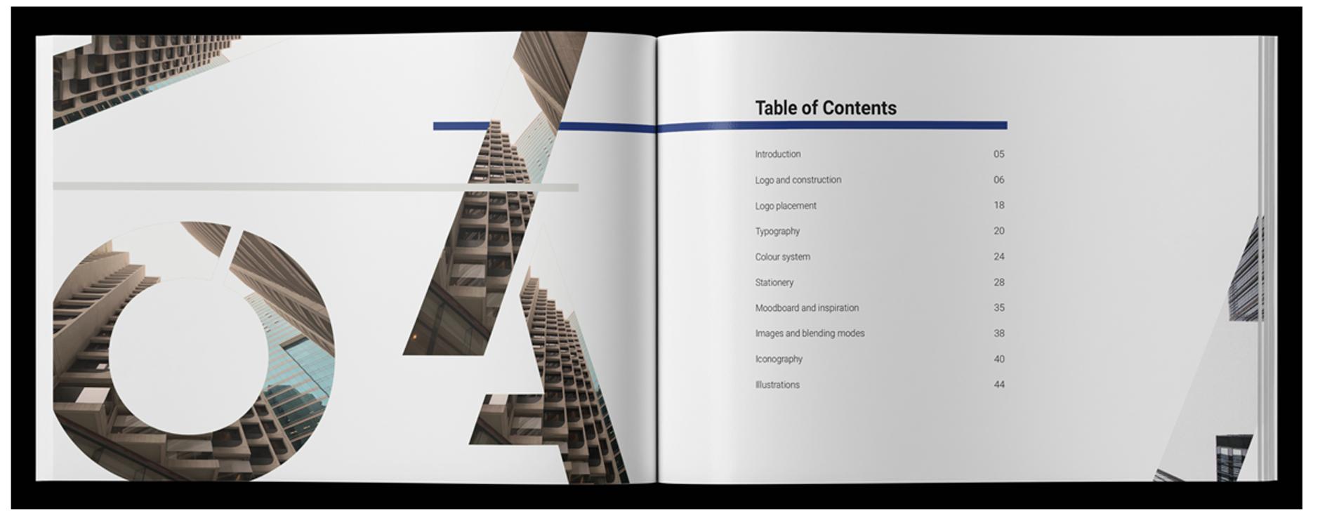 SPX Agency Work: Bonard brandbook