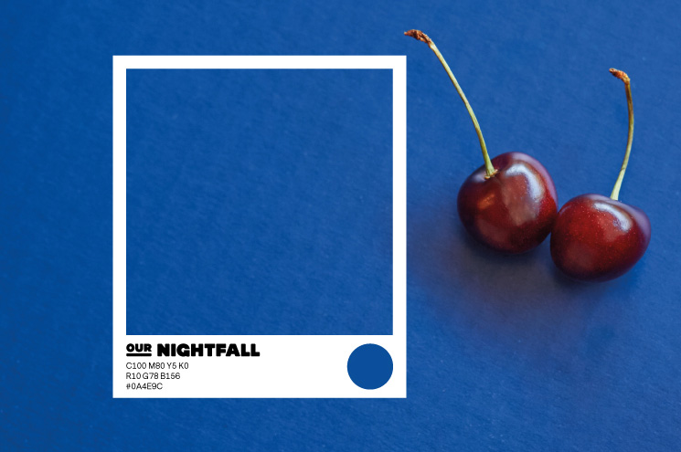 SPX Agency Work: OurDomain Colour Nightfall, cherries