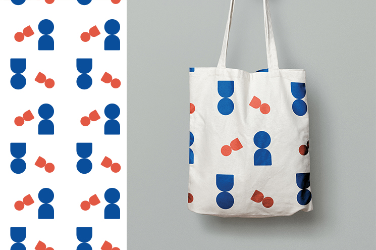 SPX Agency Work: OurDomain pattern, tote bag