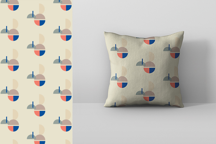 SPX Agency Work: OurDomain pattern, pillow