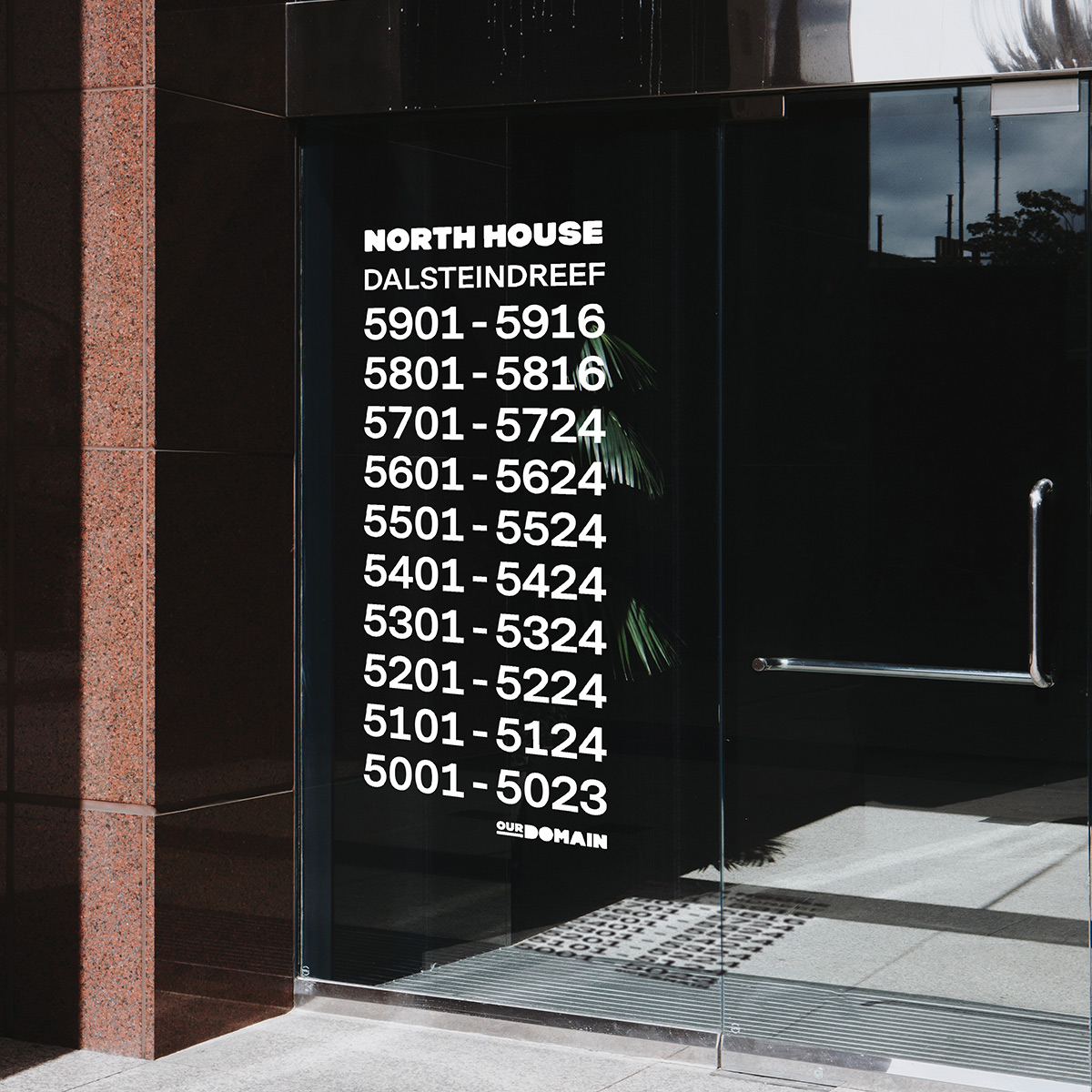 SPX Agency Work: OurDomain signage outdoor