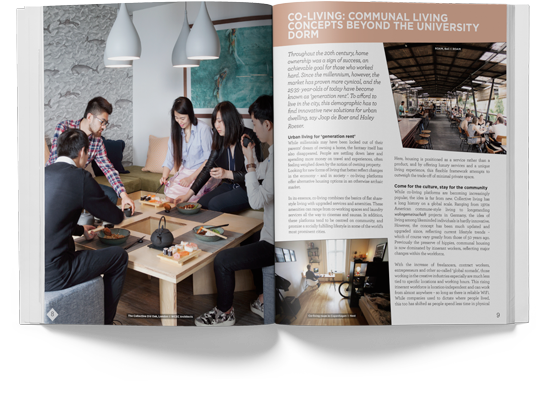 SPX Agency Work: The Class of 2020 magazine annual report internal