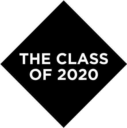 the class of 2020 logo black