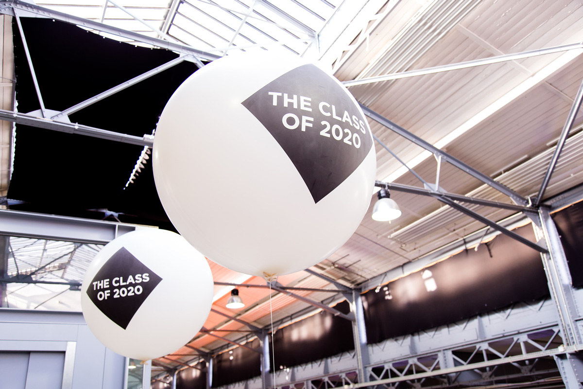 SPX Agency Work: The Class of 2020 Wien conference balloons