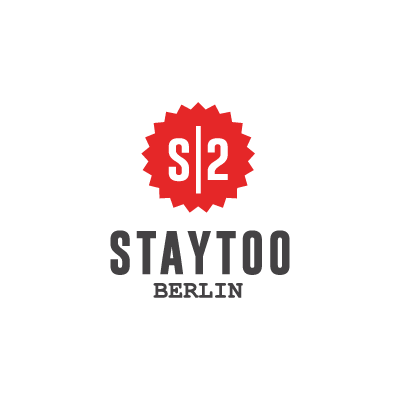 staytoo apartments berlin logo in red